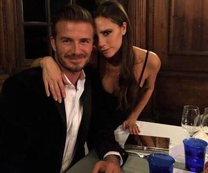 David Beckham, victoria beckham, and couple image