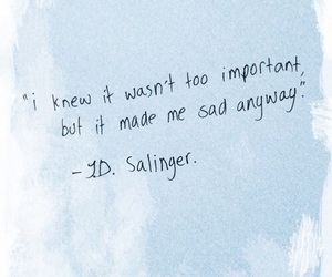 quotes, sad, and blue image