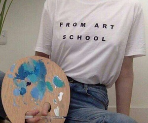 art, blue, and tumblr image