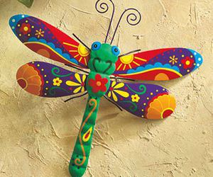 art, dragonfly, and colorful image