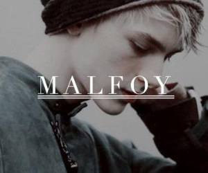 aesthetic, draco malfoy, and slytherin image
