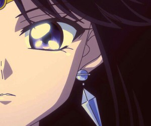 pretty, sailor moon, and sailor saturn image