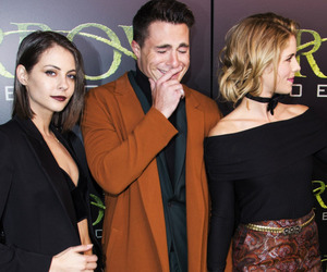 arrow, DC, and willa holland image