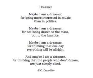 blind, Dream, and dreamer image