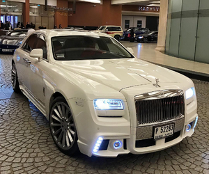 auto, rolls royce, and car image