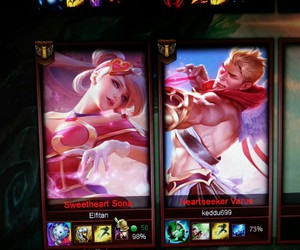 gaming, valentine, and varus image