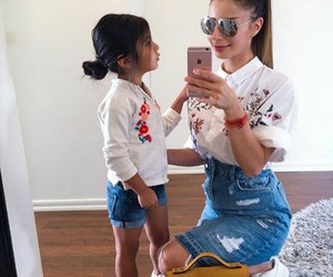 daughter, fashion, and kids image