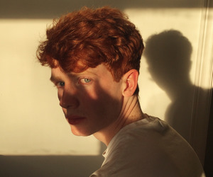 boy, ginger, and model image
