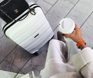 chanel, travel, and bag image