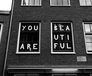 love, beauty, and writing on the window image