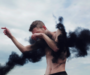 black, smoke, and alternative image