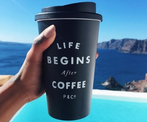 coffee, life, and quote image