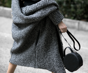 fall fashion, chunky knits, and fashionlush image