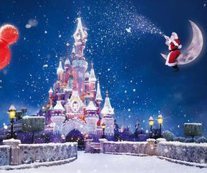 christmas and disneyland image
