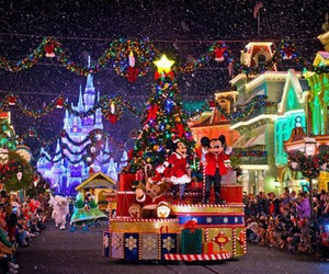 christmas, disney, and light image