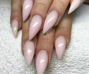diamond, long, and nails image