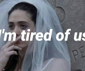 bride, fiona, and grunge image
