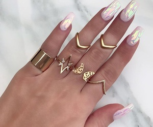 nails, accessories, and jewelry image