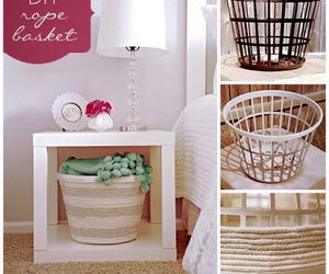 baskets, diy, and home image