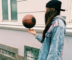 Basketball, girl, and hat image