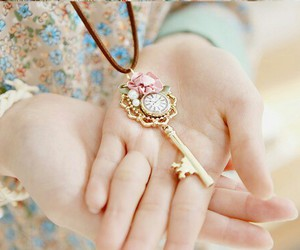 hand, key, and jewelry image