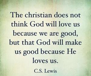 christian, cs lewis, and god image