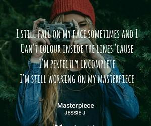 Lyrics, masterpiece, and music image