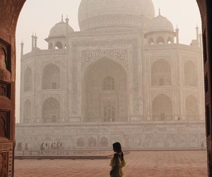 travel, girl, and india image