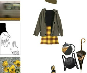 autumn, Polyvore, and backpack image