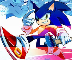 sega, Sonic the hedgehog, and amy rose image