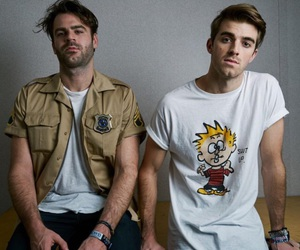 the chainsmokers, andrew taggart, and alex pall image