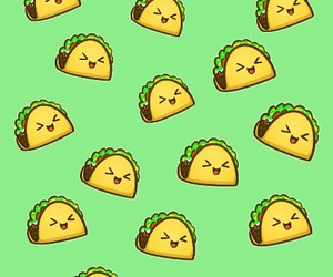food, taco, and wallpaper image