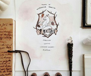 harry potter, hogwarts, and foxtail image