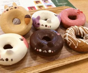 donuts, food, and japan image