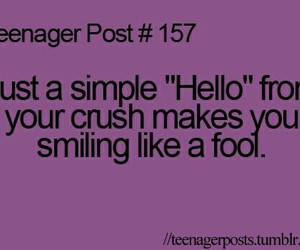 crush, hello, and smile image