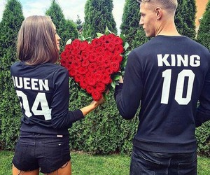 couple, Queen, and king image