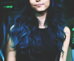 little mix, blue hair, and jade thirlwall image