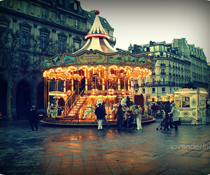 light, city, and france image