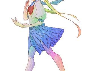 sailor moon, usagi, and 美少女戦士セーラームーン image