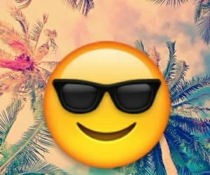 emoji and summer image