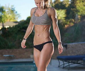 fitness, mujer, and gym image