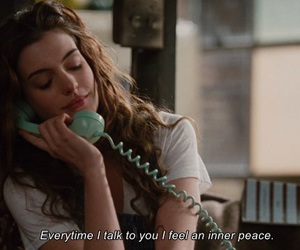 Anne Hathaway, movie, and quotes image