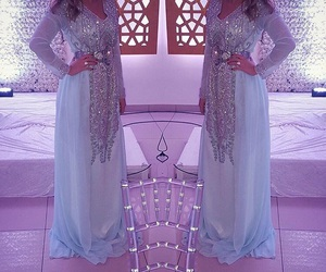 girl, moroccan, and wedding image