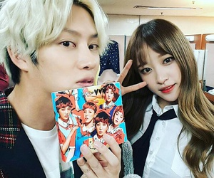 ้heechul, exid, and hani image