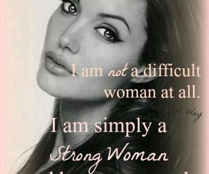 quotes and Angelina Jolie image