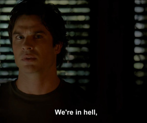 hell, quote, and the vampire diaries image