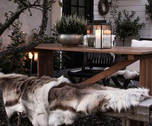 christmas, interior, and snow image