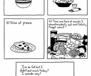 funny, food, and sarah andersen image