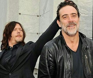 negan, the walking dead, and daryl image