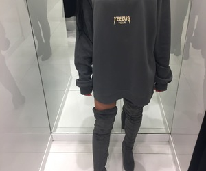 fashion, style, and yeezus image